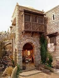 Pin by Angel Alvarez on Pirate Warhammer Terrain, Fantasy Castle, Rocky Horror Picture, Medieval Town, Art Background, Model Homes, Little Houses, Hobbies And Crafts, Dollhouse Miniatures