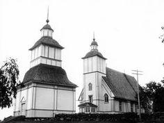 Kuva: Pyhän Laurentiuksen kirkko Ii.