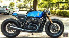 Harley Davidson Street Rod 2017 cafe racer