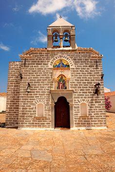 Greek Orthodox Monastery of the Profitis Ilias, Hydra, Greece