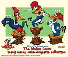 Cartoon & Co - Woody Woodpecker Classic Cartoon Characters, Cartoon Tv Shows, Favorite Cartoon Character, Classic Cartoons, Comic Character, 70s Cartoons, Old School Cartoons, Animated Cartoons, Ed Edd Y Eddy