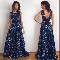- Beautiful blue maxi long slim hip dress for the fashionable woman - Trendy design offers a unique stylish look - Perfect for parties or social gatherings - Made from high quality material