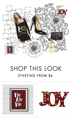 """""""Santa Baby Pinterest Challenge"""" by wild3cat on Polyvore featuring Order Home Collection and Arteriors"""