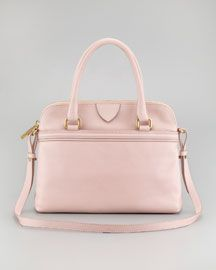 V1BGY Marc Jacobs Preston Convertible Handbag, Pale Pink