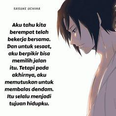 Quotes Indonesia, Sasuke Uchiha, Boruto, Fan Art, Japanese, Memes, Dan, Anime, Japanese Language