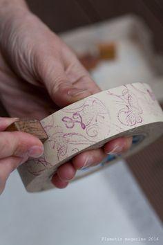 Faire son propre masking tape | Plumetis Magazine