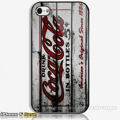 Coca Cola Drink Custom iPhone 5 Hard Case Cover