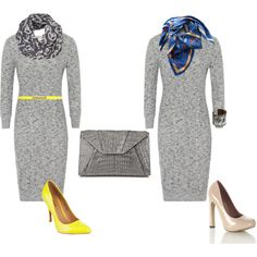 """""""Grey gress"""" by irenabarat on Polyvore"""