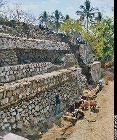 Mayan Pyramid,Tazumal