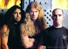 Tom Araya, Dave Mustaine & Scott Ian