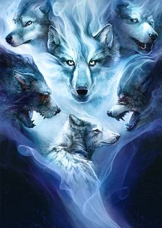 Spirit Wolves - Prints Available