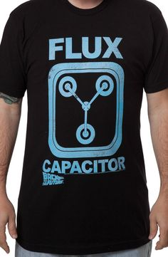 Charcoal Heather Flux Capacitor Shirt