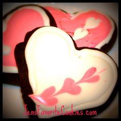 Chocolate Sugar Cookies with Royal Icing | Jen's Favorite Cookies
