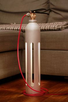Fire extinguisher flashlight 002 – # Fire extinguisher flashlight - All For Lamp İdeas Industrial Lighting, Cool Lighting, Lighting Design, Industrial Stairs, Industrial Closet, Industrial Shop, Industrial Windows, White Industrial, Industrial Restaurant