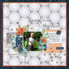 Spring is in the Air Kit: Project Twenty Fifteen | Mar by Laura Passage