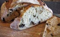 Ciabatta ai Funghi adapted from Carol Field's Mushroom Bread Recipe Ciabatta, Mushroom Bread Recipe, Mushroom Recipes, Scones, Pull Apart Bread, Small Cake, Cheese Cloth, Sourdough Bread, Arrows