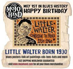 #littlewalter #blues #harmonica #birthday