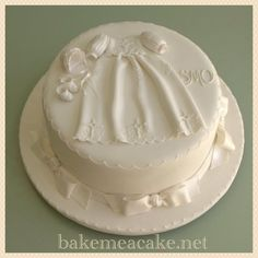 Amazing Christening cake by   bakemeacake.net