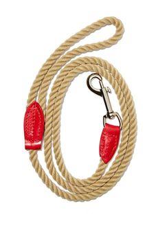 Wagwear Lucky Dog Rope Leash. Love.