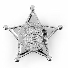 You're my favourite deputy! No cowboy's outfit is complete without a shiny plastic silver badge! Perfect for a Woody costume, cowboy outfit, cowboy and western theme party favour or just for everyday Cowboy Theme Party, Cowboy Birthday, 5th Birthday, Birthday Ideas, Woody Costume, Costume Shop, Sheriff Badge, Sheriff Callie, Wild West Party
