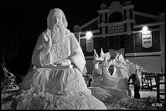 International Snow Sculpture Festival by Valery Titievsky, via Flickr