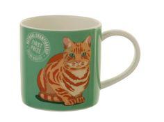 Marmalade Cat Design Bone China Tea Coffee Mug Cup