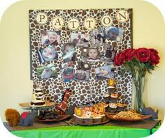 boy safari birthday