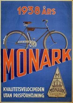 Monark Bicycle Poste