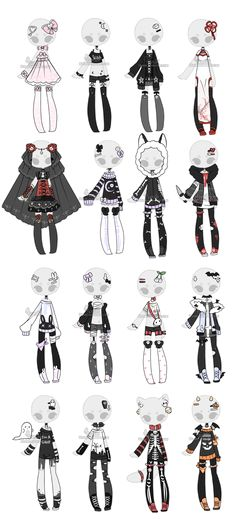 Manga Clothes, Drawing Anime Clothes, Fashion Design Drawings, Fashion Sketches, Character Outfits, Character Art, Anime Outfits, Cute Outfits, Mode Kawaii