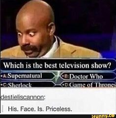 *small voice and raise hand* I've never watched Game of Thrones... and my answer would have to be A