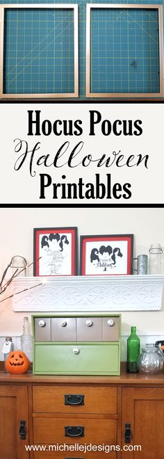Easy Hocus Pocus Halloween Printables You Can Print and Display Diy Furniture Making, Easy Diy Crafts, Decor Crafts, Home Decor, Printable Activities For Kids, Spooky Decor, Halloween Goodies, Easy Craft Projects, Hocus Pocus