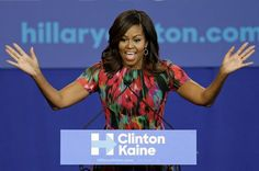 Trump Goes After Michelle Obama: 'All She Wants To Do Is Campaign'