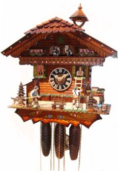 Clocks Product | 86210T Romeo & Juliet Cuckoo Clock - Cuckoo Clock Nest