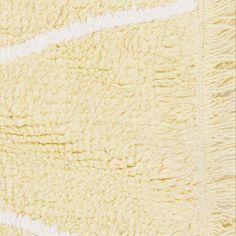 Hippy Yellow  #washablerugs #lorenacanals #kidsdecoration #yellow