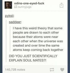 A scientific explanation for soul mates :O