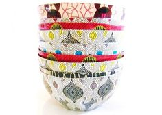 These beautiful handmade papier mache bowls are not just beautiful but they are raising money for Africa.