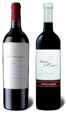 Osoyoos Larose - tasty wines