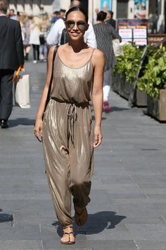 Pin for Later  Myleene Klass Isn t Letting the Colder Weather Affect Her  Street 115eca074