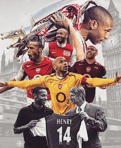 Thierry Henry Legends Football, Football Icon, Football Art, Arsenal Football, Football Players, Arsenal Badge, Arsenal Fc Players, Aubameyang Arsenal, Club Premier