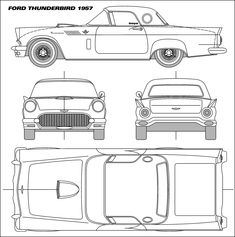 Blueprint Ford Mustang Cars blueprints Pinterest