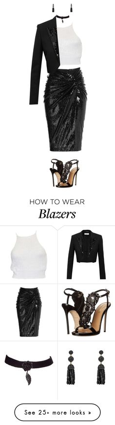 """""""Untitled #173"""" by ayra2 on Polyvore featuring Donna Karan, Yves Saint Laurent and Dsquared2"""