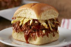 Carolina-Style BBQ Pulled Pork Sliders