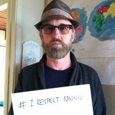 I Respect Music.  John McCrea of the band Cake respects music #IRespectMusic http://irespectmusic.org/