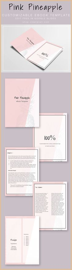 135 best blog ebooks courses images on pinterest business tips need a template for your ebook or downloadable pdf pink pineapple is perfect for wellness fandeluxe Gallery