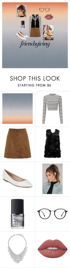 """Friendsgiving"" by lillisoto ❤ liked on Polyvore featuring Calico Wallpaper, Miss Selfridge, Boohoo, BCBGeneration, NA-KD, NARS Cosmetics, Ray-Ban, BERRICLE and Lime Crime"