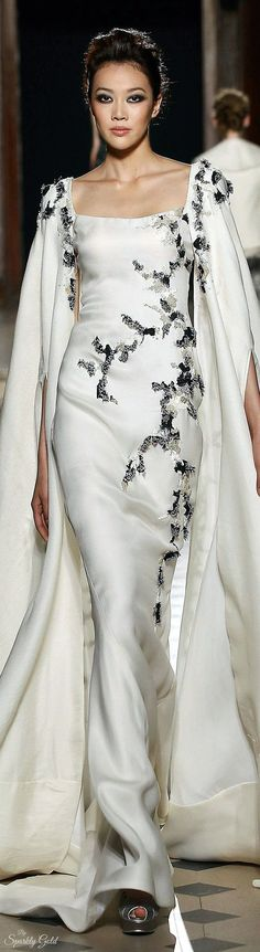 beautiful dress which can be reused as a cocktail dress by Tony Ward Fall 2015 Couture  jαɢlαdy