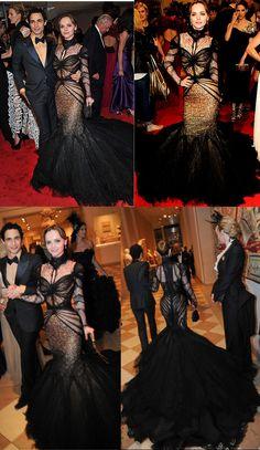 Zac Posen | Christina Ricci| MET Costume Institute Gala 2011