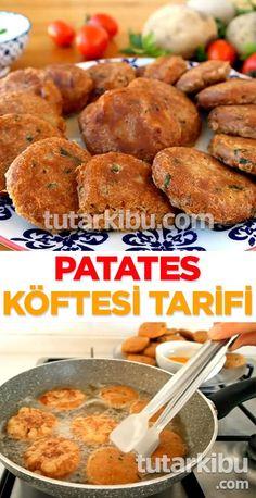 Patates Köftesi – Fırın yemekleri – The Most Practical and Easy Recipes Turkish Recipes, Ethnic Recipes, Shellfish Recipes, Snack Recipes, Snacks, Pike Fishing, Food And Drink, Veggies, Potatoes