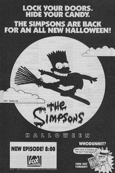 The Simpsons Halloween Ad