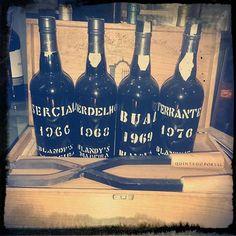 Assortment of old madeira wines #madeira #wine #madeirawine #Funchal  #blandys